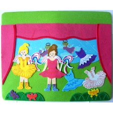 Fun Time Felt 2 Little Ballerinas