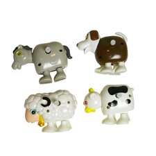 Clip-Itty-Doo-Dahs Wind Up Farm Animals Display