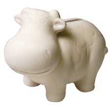 Paint Your Own Cow Mini Bank