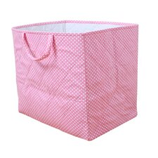 Storage Bag in Pink Dotty