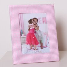 Photo Frame in Pink Gingham