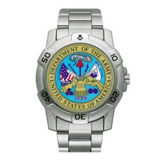 Chrome Military U.S. Army Watch