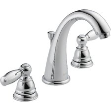 Widespresd Bathroom Faucet with Double Handles