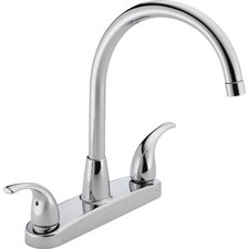 "11.75"" Two Handle Centerset Kitchen Faucet"