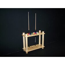 Pool Cue Floor Rack