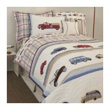 Cars and Trucks Duvet Cover Collection