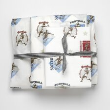 Vintage Sports 240 Thread Count Sheet Set