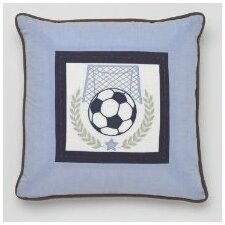 <strong>Whistle and Wink</strong> Vintage Sports Decorative Pillow