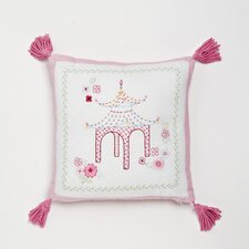 Pink Pagoda Decorative Pillow