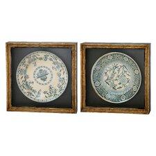 Antique Plate Strong Design Frame Art