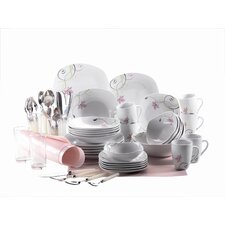 Fierezza 68 Piece Porcelain  Dinnerware Set