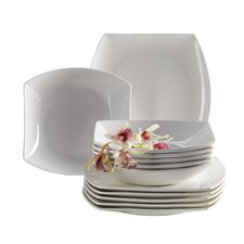 Vicino 12 Piece Porcelain Dinnerware Set