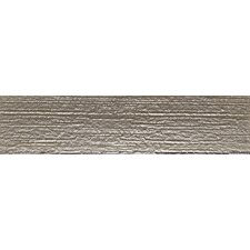 """Driftwood 3"""" x 12"""" Glass Textured Tile in Winter Gray"""