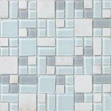 No Ka 'Oi Kapalua Random Sized Mosaic Stone and Glass Blend in Multi