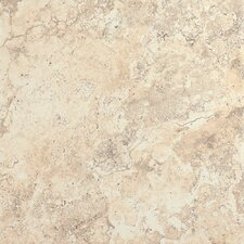 "<strong>Epoch Architectural Surfaces</strong> 12"" x 12"" Porcelain Field Tile in Beige Travertine"