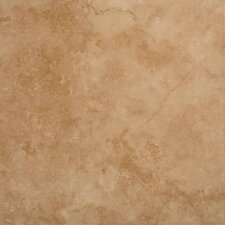 "18"" x 18"" Ceramic Field Tile in Brown"