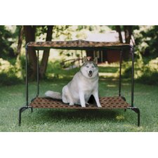 Ultra Breezy Bed™ Outdoor Dog Bed in Royale Print