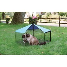 <strong>Kittywalk Systems</strong> The Carousel™ Outdoor Pet Playpen