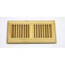 "<strong>Moldings Online</strong> 11-1/4"" x 5-5/8"" Vertical Bamboo Wood Surface Mount Vent"