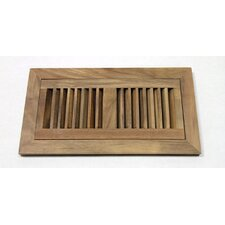 "2"" x 12"" Acacia Wood Flush Mount Vent"
