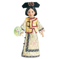 "Qing Dynasty Princess Outfit for 18"" Slim Dolls"