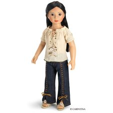 "<strong>Carpatina</strong> Fun Chic Outfit for 18"" Slim Dolls"