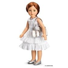 "Fleur Blanc Dress for 18"" Slim Dolls"