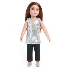 "Shimmer Outfit for 18"" Slim Dolls"