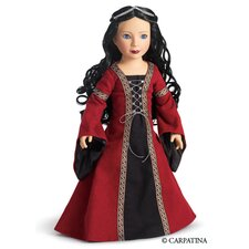 "Veronika Medieval Princess 18"" Vinyl Slim Doll"