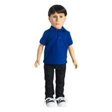 "Carter 18"" Vinyl Boy Doll"