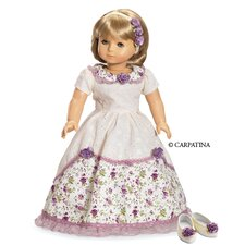 <strong>Carpatina</strong> American Girl Dolls Victorian Romance Ball Dress, Hair Accessories and Shoes