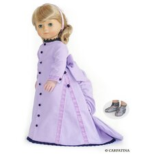<strong>Carpatina</strong> American Girl Dolls Victorian Bustle Back Dress
