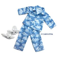 <strong>Carpatina</strong> American Girl Dolls Cloud Nine Pajamas and Bunny Slippers