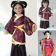 <strong>Carpatina</strong> Clothes Pattern Doll Hanfu Chinese Dress and Japanese Kimono