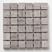 """Haisa Marble 12"""" x 12"""" Square Mosaic in Haisa Dark"""