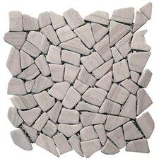 Haisa Marble Random Sized Irregular Mosaic in Haisa Dark