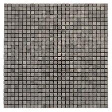 """Haisa Marble 12"""" x 12"""" Micro Mosaic in Haisa Dark"""