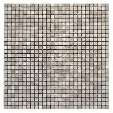 """Haisa Marble 12"""" x 12"""" Micro Mosaic in Haisa Light"""