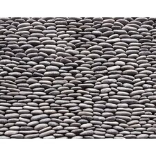 "Standing Pebbles 12"" x 4"" Interlocking Mesh Tile in Cascade"