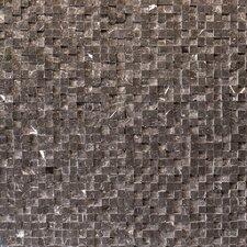 "Cubist 12"" x 12"" Mesh Mosaic in Gris"