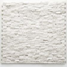 "Modern 1/2"" x 3/4"" Stone Unpolished Mosaic in Beaux"