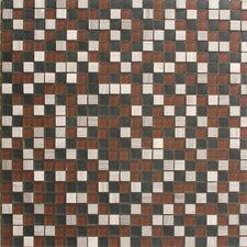 "Opera 12"" x 12"" Square Glass Mesh Mosaic in Adagio"