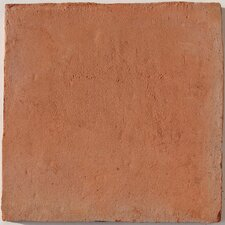 "Terra Cotta 6"" x 6"" Cuadradito Tile in Brown"