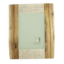 Reclaimed Wood Picture Frame with Hemp