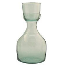 Recycled Glass and Carafe Set