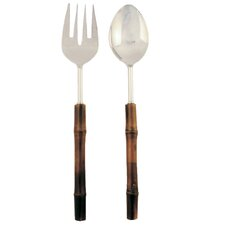 2 Piece Bamboo Server Set
