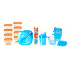 <strong>Vital Baby</strong> Baby Boy Weaning Kit in Blue