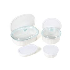 <strong>Corningware</strong> French White 10 Piece Baking Set