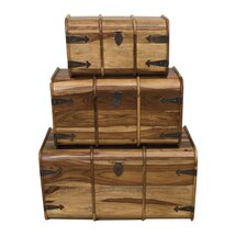 Jaitu Traditional Trunk (Set of 3)