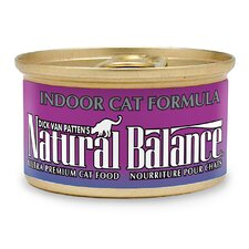 Indoor Canned Cat Food